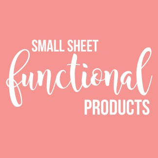 Small Sheet Functional Products