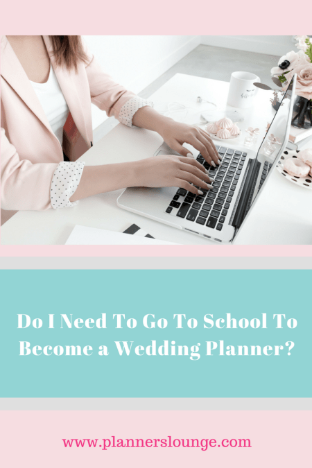 Do you need to go to school to become a wedding planner? This is a popular question for aspiring planners. Learn more from the experts at Planner's Lounge on whether you need a degree to have a career in wedding planning.