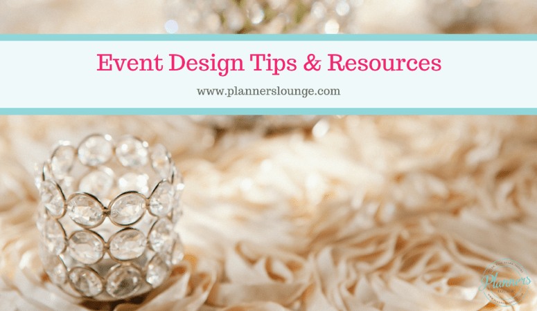 Event Design Tips & Resources from Stylish Events