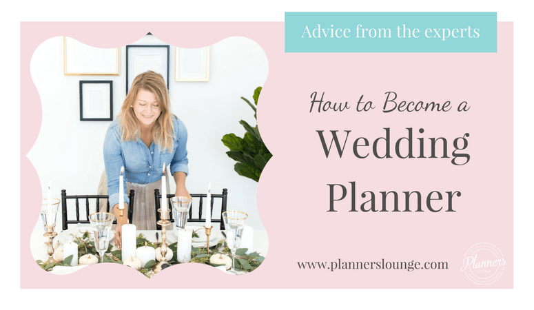 How To Become A Wedding Planner Make Money At It