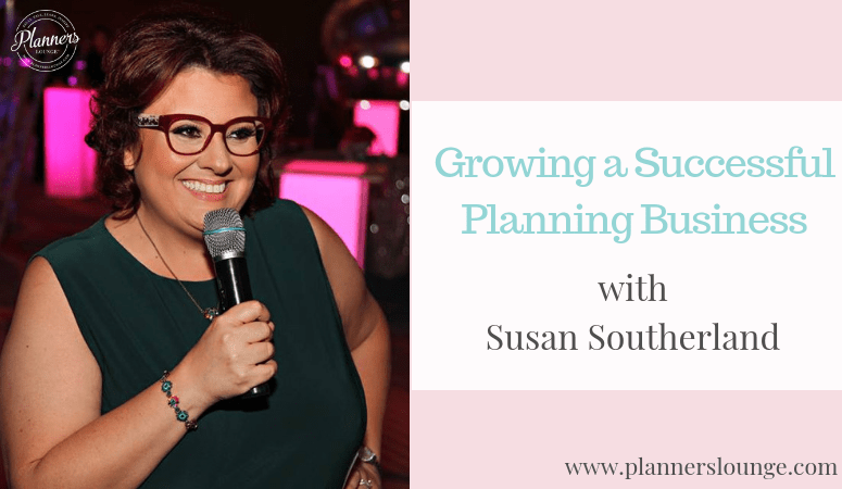 Advice on growing an event planning business with Susan Southerland {via Planner's Lounge}