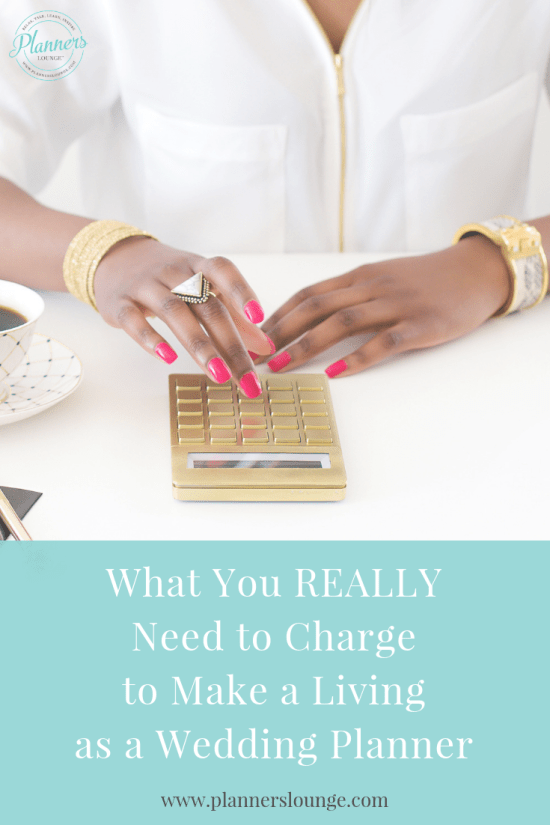 What amount of money do you really need to bring in to make a decent living as a wedding planner? Get the answer to this question and more from Planner's Lounge