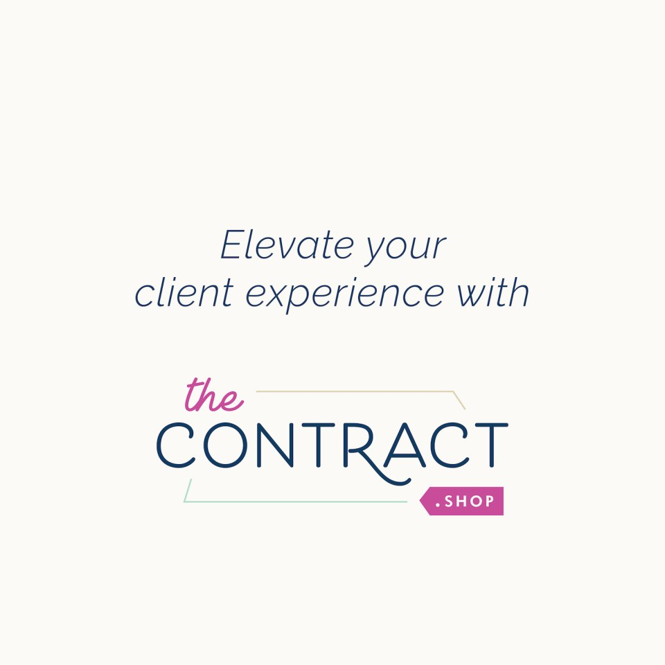 wedding planner services contract templates