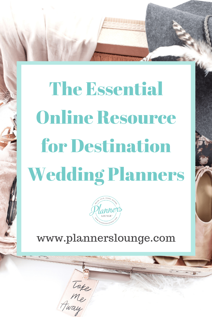 The Essential Online Resource for Destination Wedding Planners