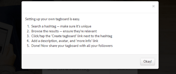 Create Your Own Tagboard