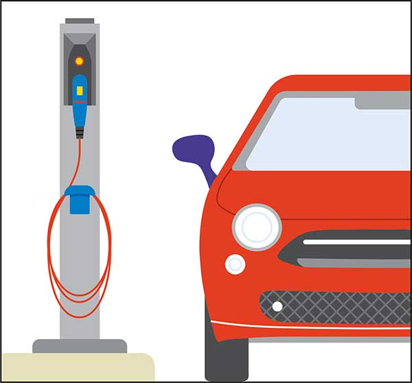 Freestanding charging stations with single or dual charge ports. Station footprints are typically similar to municipal parking meters, although pedestals range in height and bulk. There is a wide variety of commercially available models among electric vehicle supply equipment (EVSE) providers.