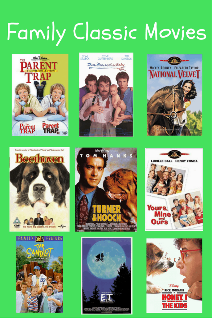 Family favorites movie guide