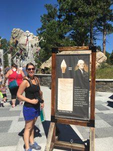 Ice cream at Mt. Rushmore.
