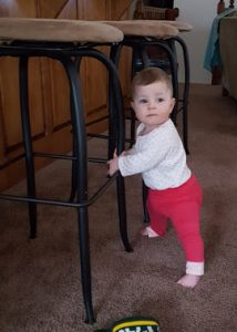 Standing up with furniture