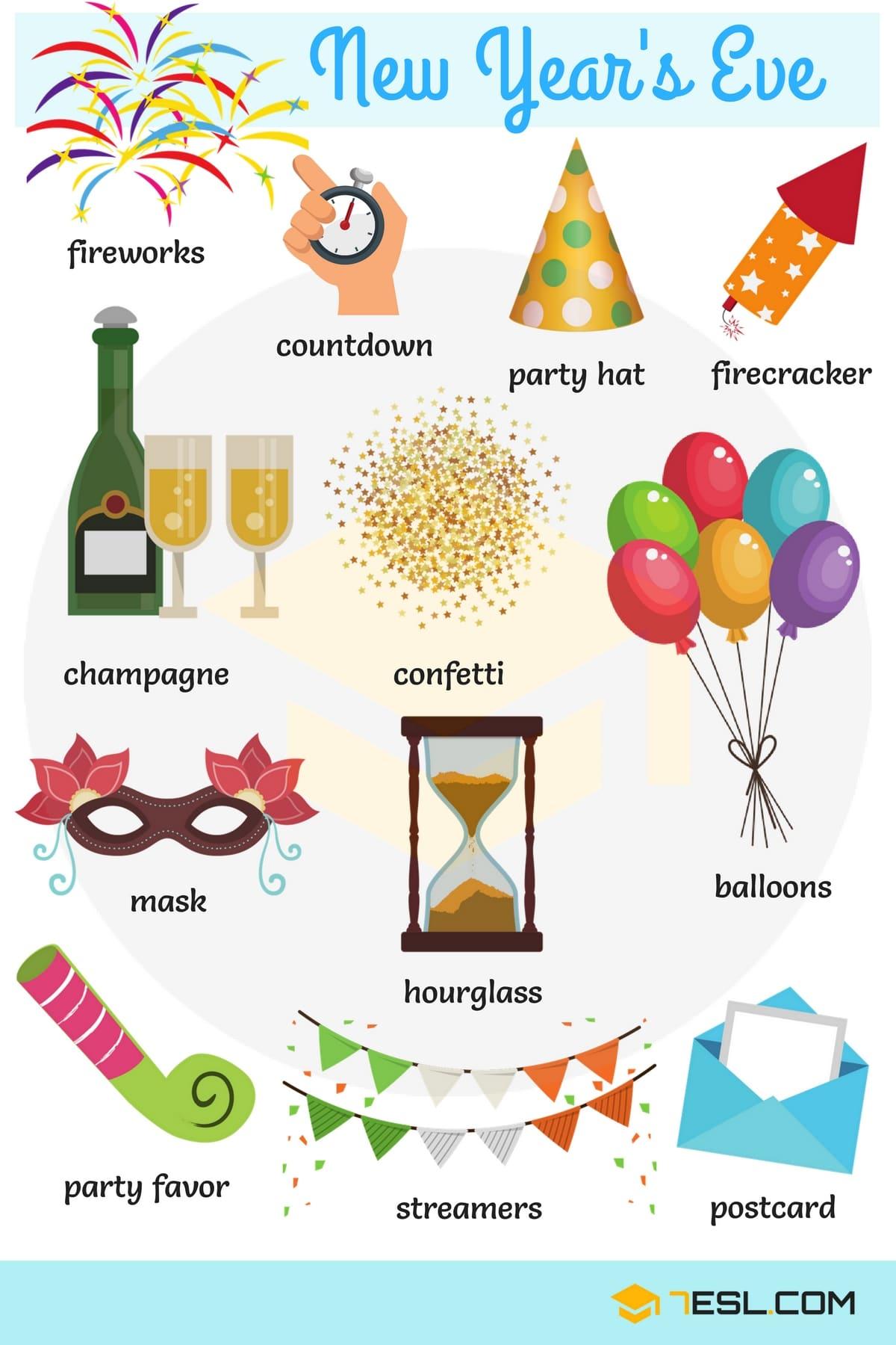 Happy New Year Strategic Language Instruction English