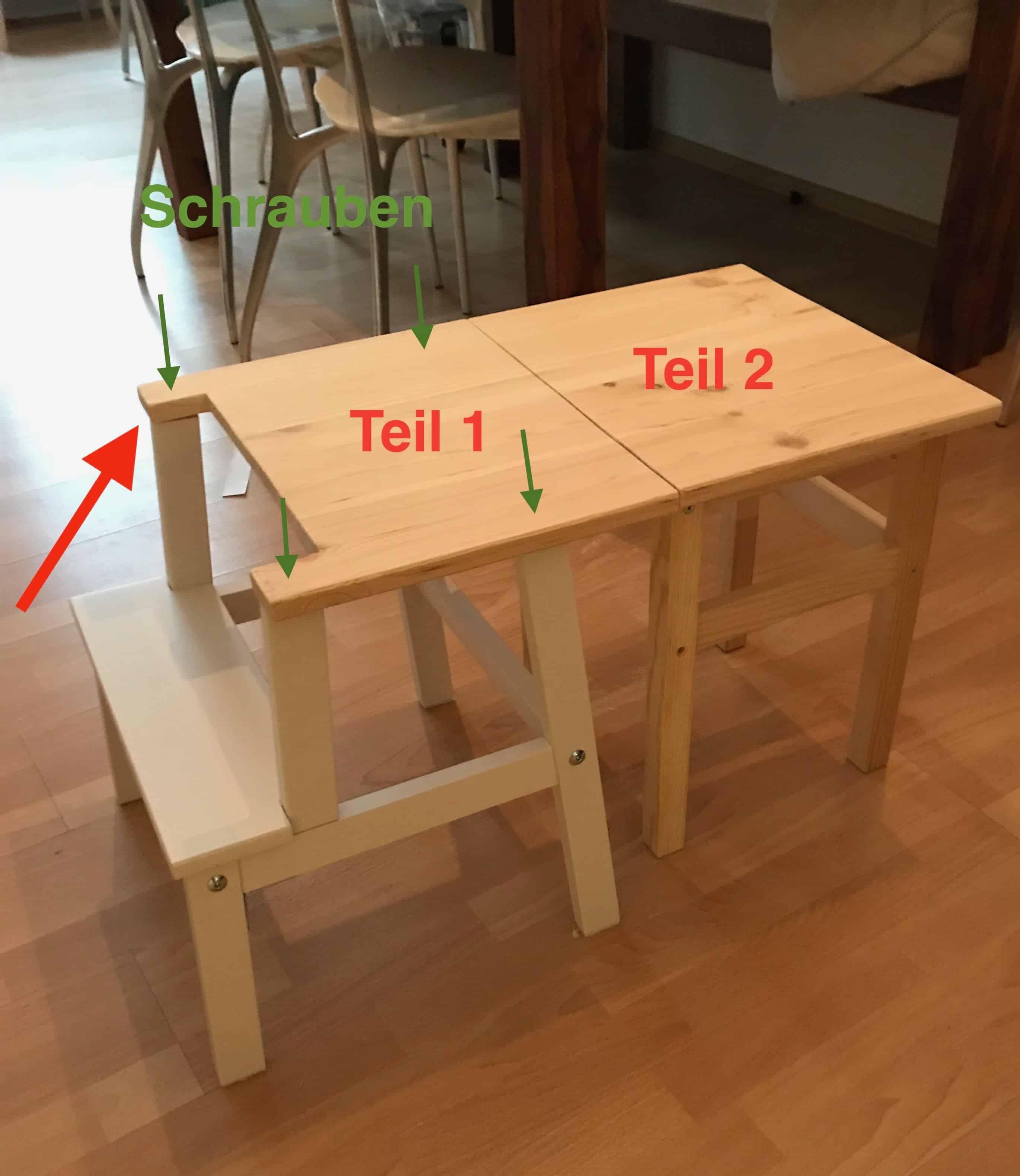 Lernturm Und Kindertisch Ikea In HackPlanningmathilda Einem Ein zpMqSUV