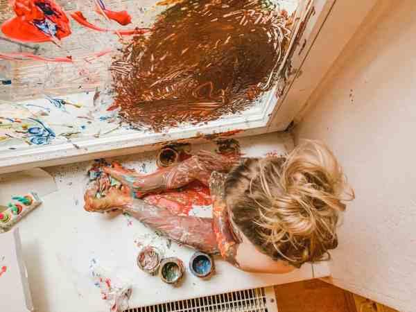 Fingerfarben, malen am Fenster, Kinder beschäftigen, planningmathilda