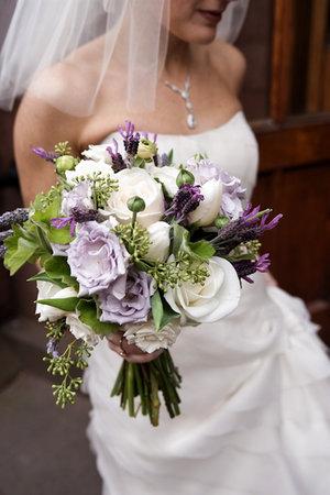 purple wedding flowers  My bridal blog