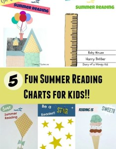 fun summer reading charts for kids also planning playtime rh planningplaytime
