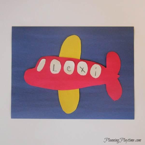 Preschool Airplane Craft Ideas