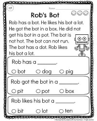 Reading For Kindergarten Worksheets - rhyming words tree ...