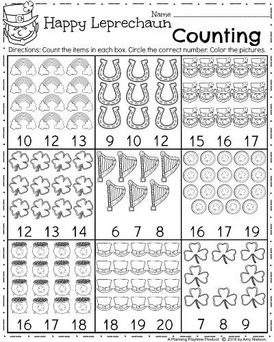 Amazing St Patrick39s Day Printable Activities And