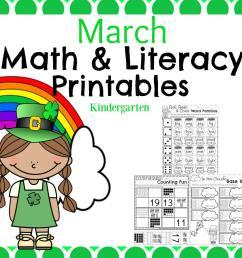 March Kindergarten Worksheets - Planning Playtime [ 1040 x 1040 Pixel ]