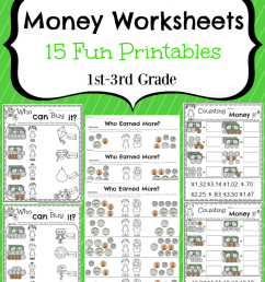 Money Worksheets for 2nd Grade - Planning Playtime [ 1024 x 819 Pixel ]