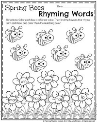 Kindergarten Worksheets for May - Planning Playtime