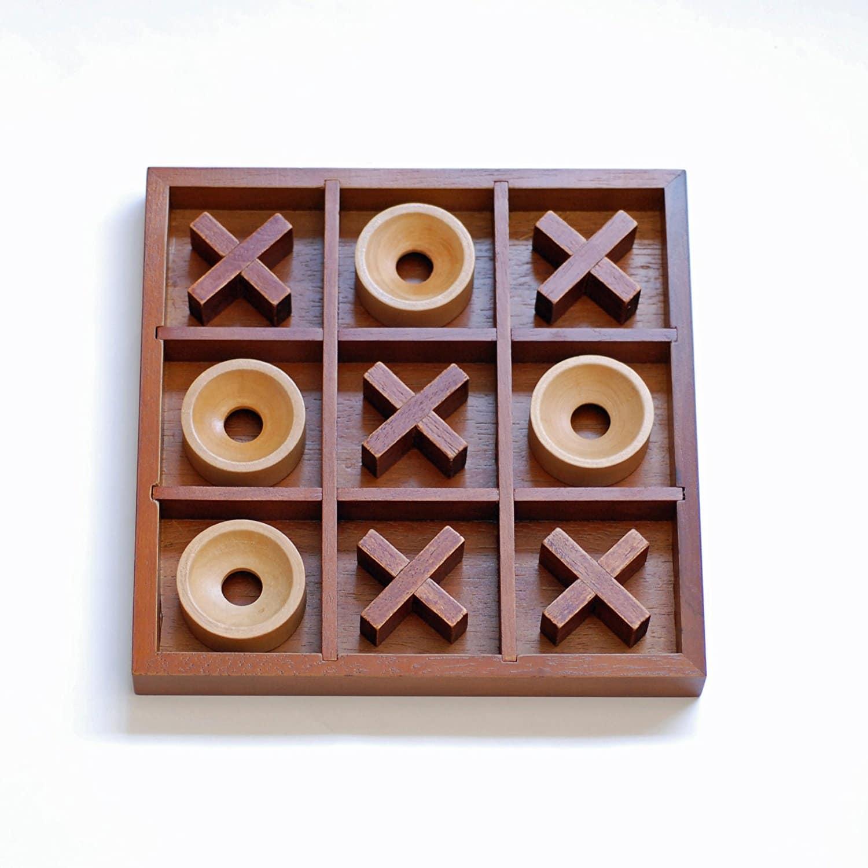 Coffee Table Tic Tac Toe Set