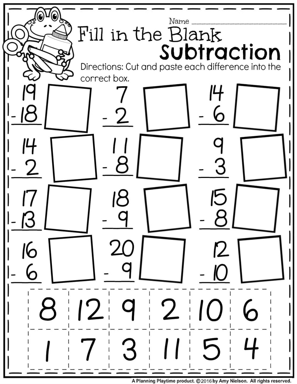 medium resolution of First Grade Summer Worksheets - Planning Playtime