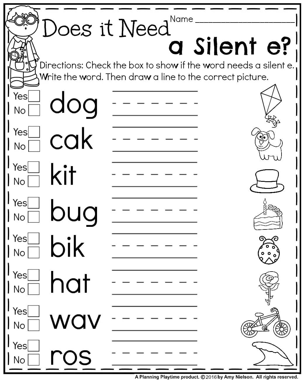 Ela Worksheet 1st Grade School