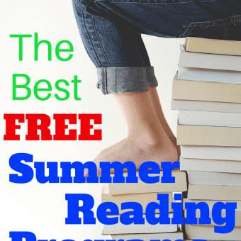 The Best FREE Summer Reading Programs for Kids