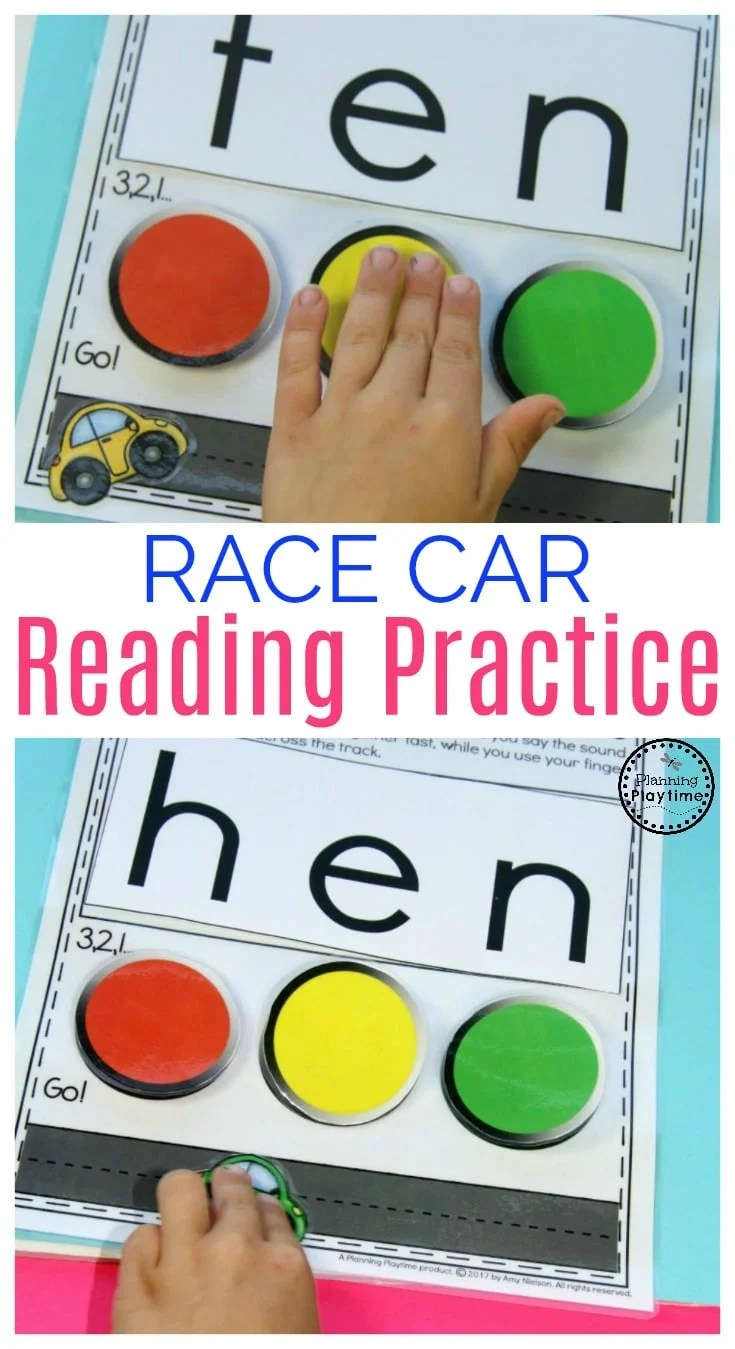 Fun Kindergarten Reading Practice Activity for kids.