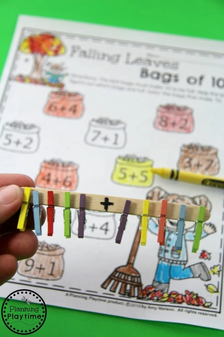 medium resolution of Addition Activity for Grade 1 - Planning Playtime
