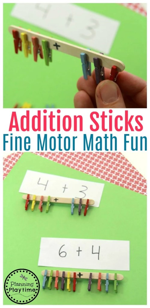 small resolution of Addition Activity for Grade 1 - Planning Playtime
