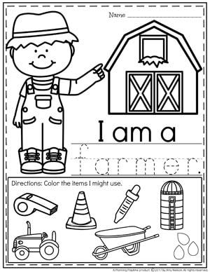 Community Helpers Preschool Theme - Planning Playtime