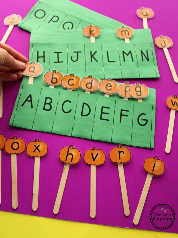 pumpkin preschool activities planning