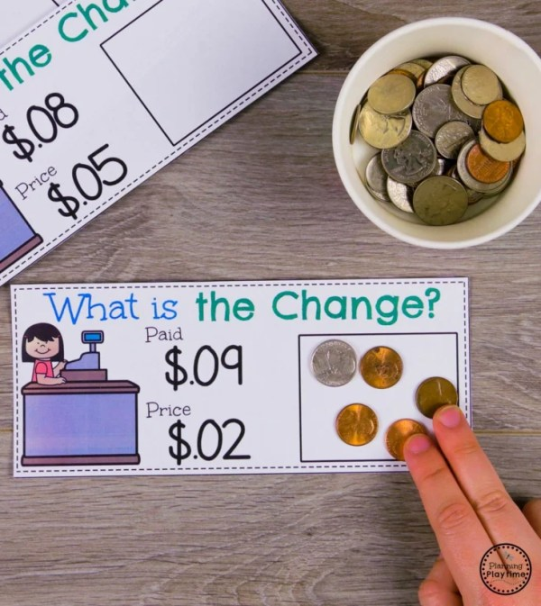 Money and Coin Recognition Activity #kindergartenmath #kindergarten #kindergartencenters #coinrecognition
