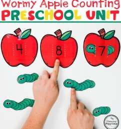 Preschool Apple Theme - Planning Playtime [ 953 x 850 Pixel ]