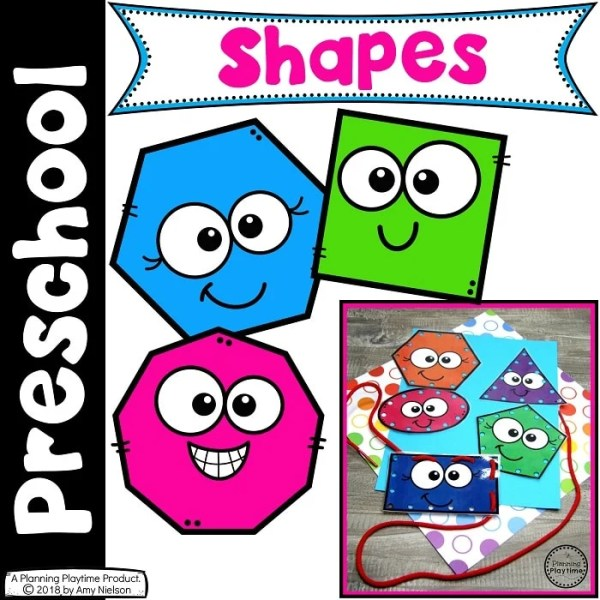 2D Shapes for Preschool