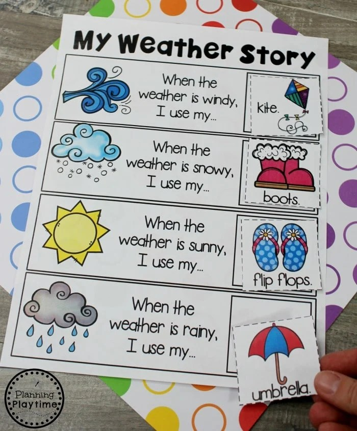 Kindergarten Writing Worksheets - Story Patterns #planningplaytime #kindergarten #kindergartenwriting #storypatterns
