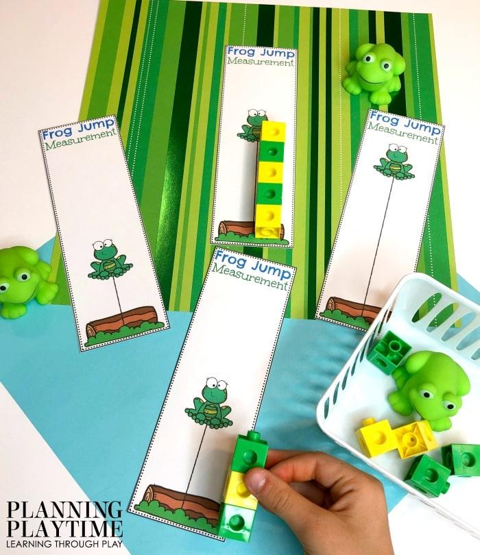 Preschool Activities Measurement - Fun Preschool Math Games and #preschool #preschoolworksheets #pondtheme #planningplaytime #mathactivities #preschoolmath