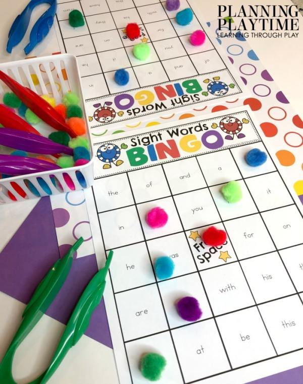 Sight Word Games - Editable - Reading Games for Kids