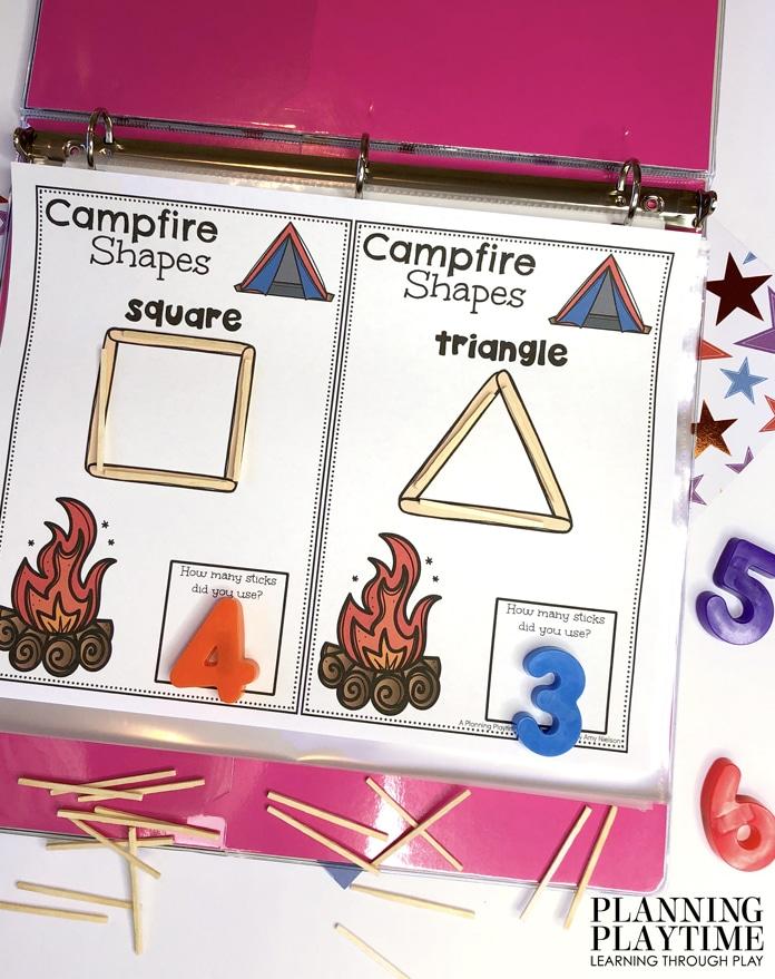 June Preschool Activities Binder - Planning Playtime