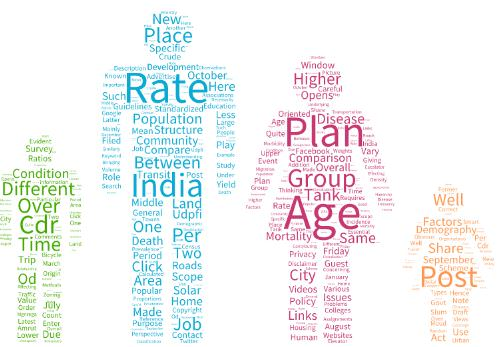 Standardization of rates in Demography