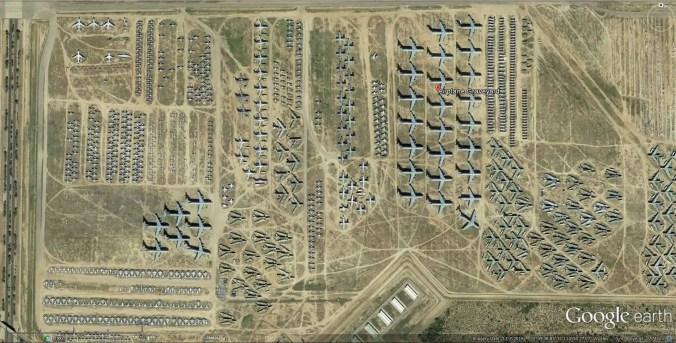 Airplane Boneyard, Arizona