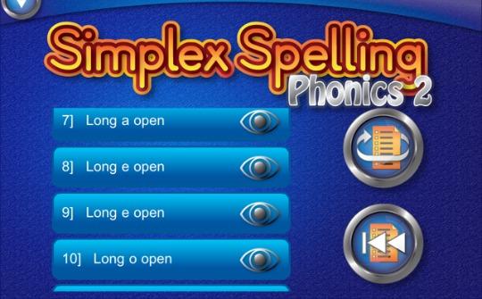 simplex spelling 540