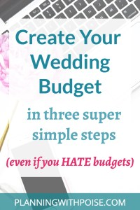 How to Create a Wedding Budget: An Easy Step-by-Step Guide