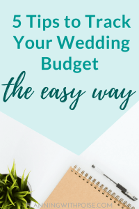 Track Your Wedding Finances