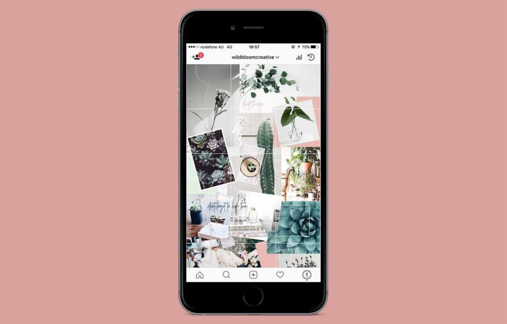 15 instagram grid layouts to try for