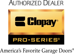 clopay garage door logo
