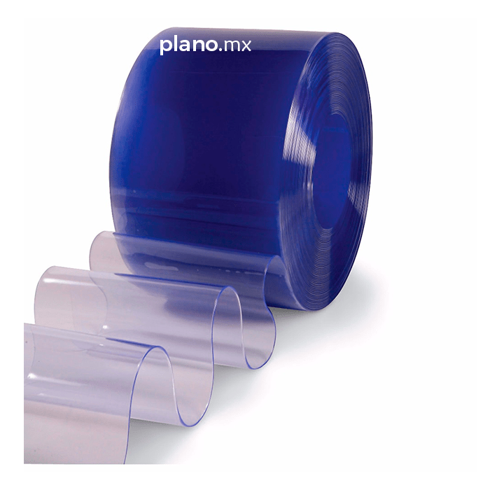 Cortina Hawaiana de PVC  Plasticos y Laminas del Norte Plano