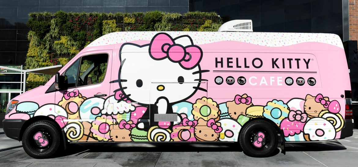 Hello Kitty Cafe Truck Stops In Plano