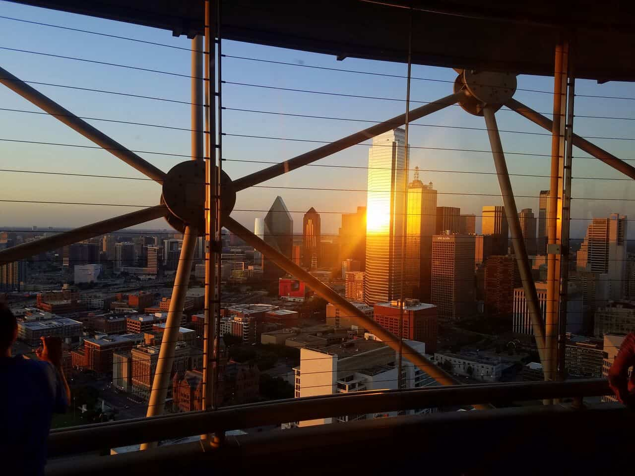 Staycation at Reunion Tower Dallas